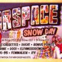 vaporspace snow day